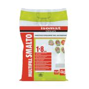 ISOMAT SMALTO 1-8 WATER REPELLENT TILE GROUT WITH PORCELAIN EFFECT WHITE 4KG