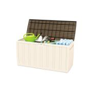 RAM CUSHION BOX 45.5X117X57.5CM/270L CREAM/BROWN