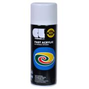 FAST ACRYLIC SPRAY WH GL.400ML