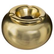 CERAMIC ASHTRAY GOLD