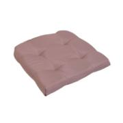 CUSHION SEAT 40X40X5 BEIGE