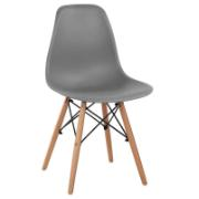 TWIST CHAIR 46X53X82 GREY