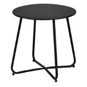FRUIT TABLE FOLD. ROUND BLACK