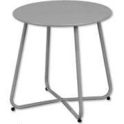 FRUIT TABLE FOL.ROUND DARK GREY