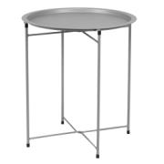 FRUIT TABLE ROUND LIGHT GREY