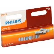 PHILIPS LONG LIFE 12XAAA