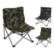 FOLDING CHAIR CAMOUFLAGE 2ASS
