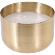 WAX VOTIVE SHINY 6CM GOLD