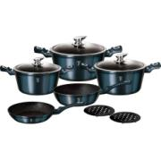 BERLINGER HAUS COOKWARE SET 10PCS AQUAMARI