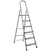 ALUMINIUM LADDER TRESTLE 5+1 STEPS