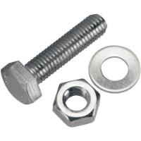 FER 4PCS HEX BOLD & NUT M6x50