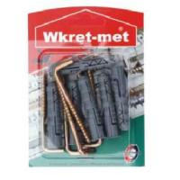 WRET-MET 9pcs ROWBLUX WITH L HOOK 8x45mm