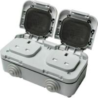 TIMEGUARD DOUBLE OUTDOOR SOCKET
