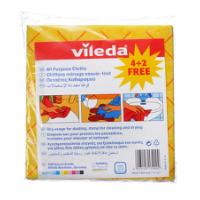 VILEDA ALL PURPOSE CLOTH 4+2 FREE