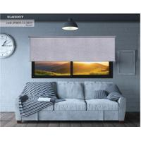 ROLLER BLIND BLACKOUT GRAY REPUSSE 140X270CM
