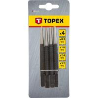 TOPEX 4PCS SET NAIL PUNCH