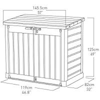 KETER STORE IT OUT MAX 145.5X82X125CM
