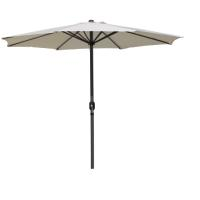 MARKET 3M ALUM.UMBRELLA NATURAL