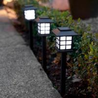 SHC SOLAR GARDEN LIGHT BLACK