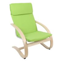 ANNA RELAX CHAIR GREEN CUSHIO