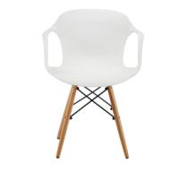 LINA PLASTIC CHAIR WHITE