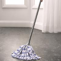 COTTON MOP W HANDLE 3 COL