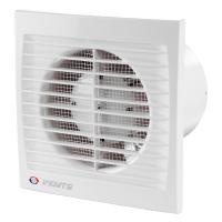 VENTS AXIAL FAN 125 WHT WITH TIME DELAY