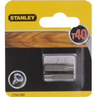 STANLEY SCREWDRIVER BITS T40