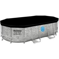 POOL 4.27Mx2.5Mx1M RATTAN OVAL