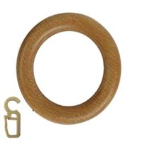 RING W HOOK 28MM NAT 10PC