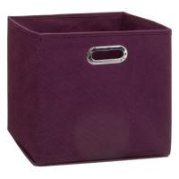 FOLDING BOX 31X31CM PURPLE