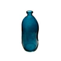 BOTTLE RECYCLE GLASS BLUE