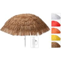 STRAW UMBRELLA DIA 180CM 5ASS