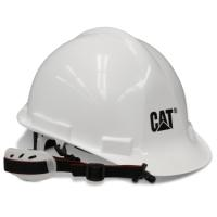 CAT WHITE HARD HAT ANSI APPROV