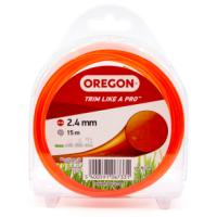 OREGON STRIMMER LINE 2.4MMX15M