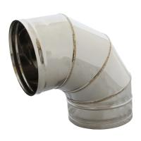 PIPE TURN INOX NO 20 90o