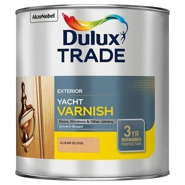 DULUX W/SHIELD EXTERIOR YACHT VARNISH 1Ltr