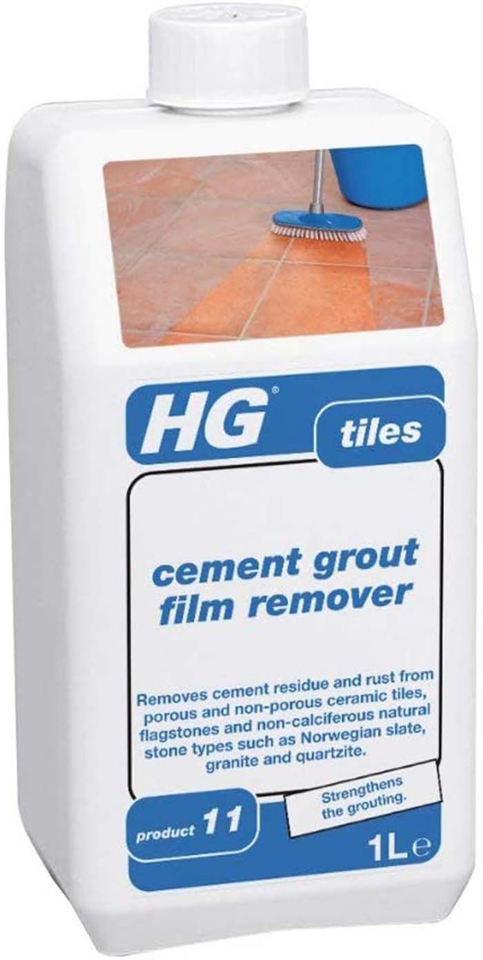 HG CEMENT GROUT FILM REMOVER - TILES  1L