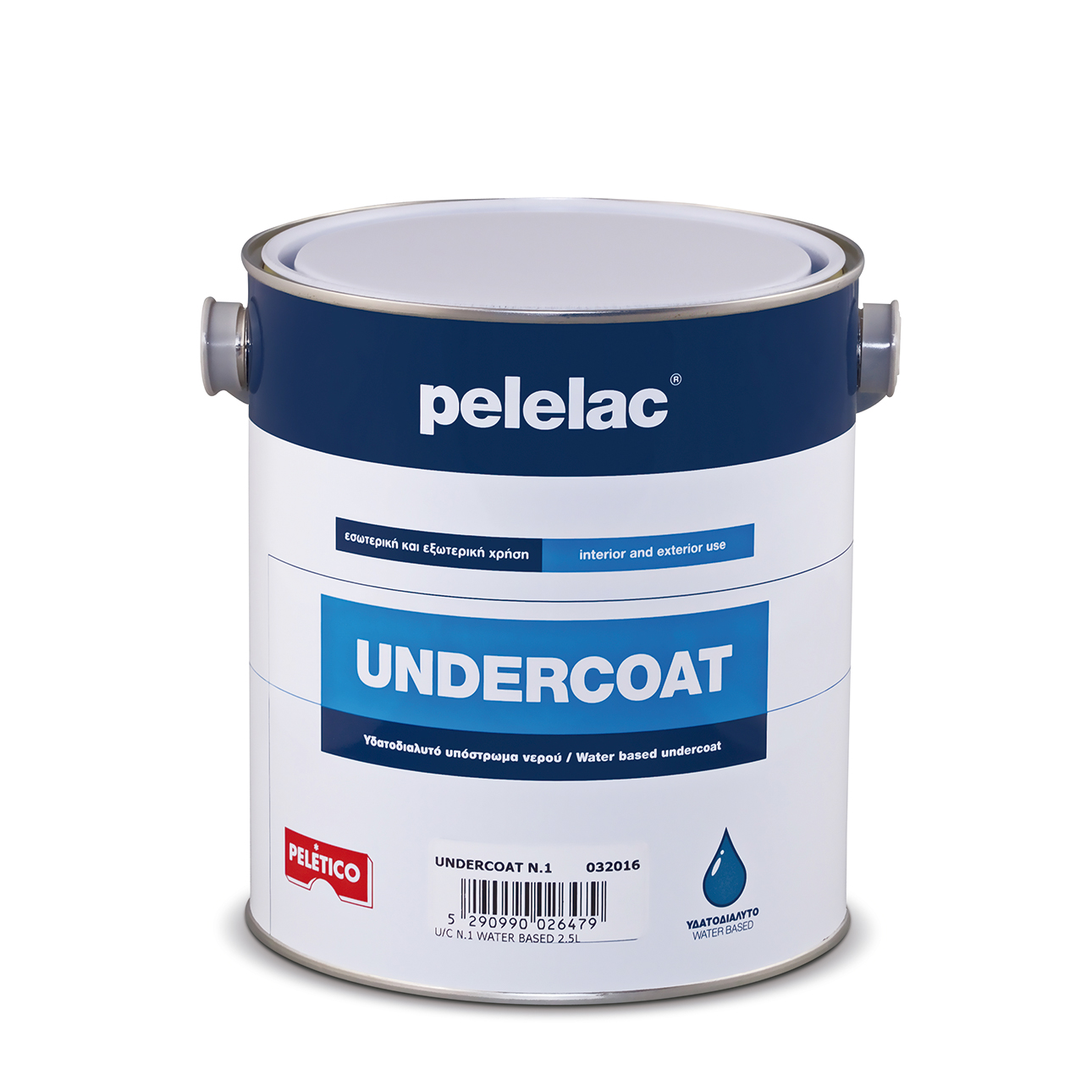 PELELAC UNDERCOAT N.4 WATER BASED 1/2L
