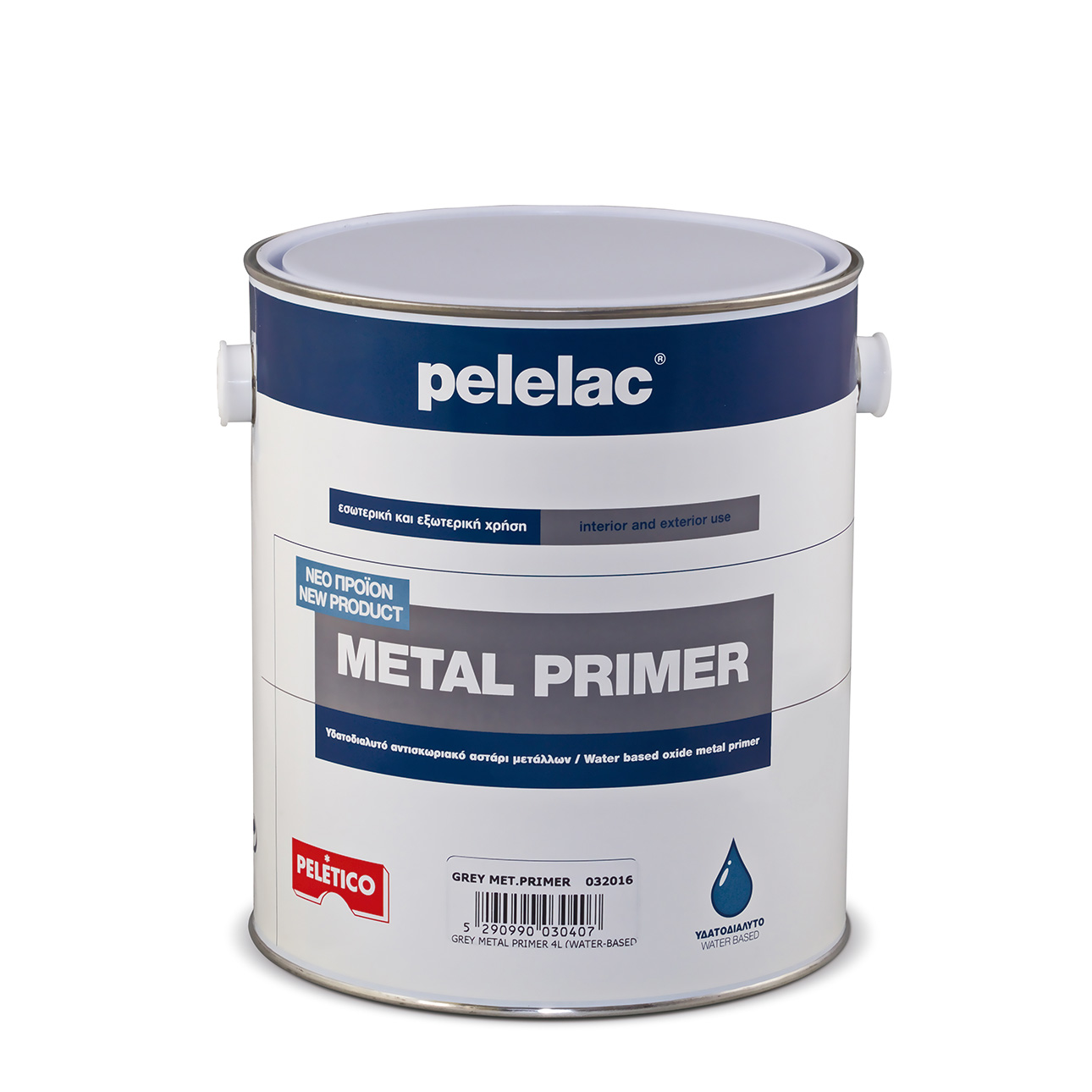 PELELAC® METAL PRIMER RED OXIDE 0.5L WATER BASED