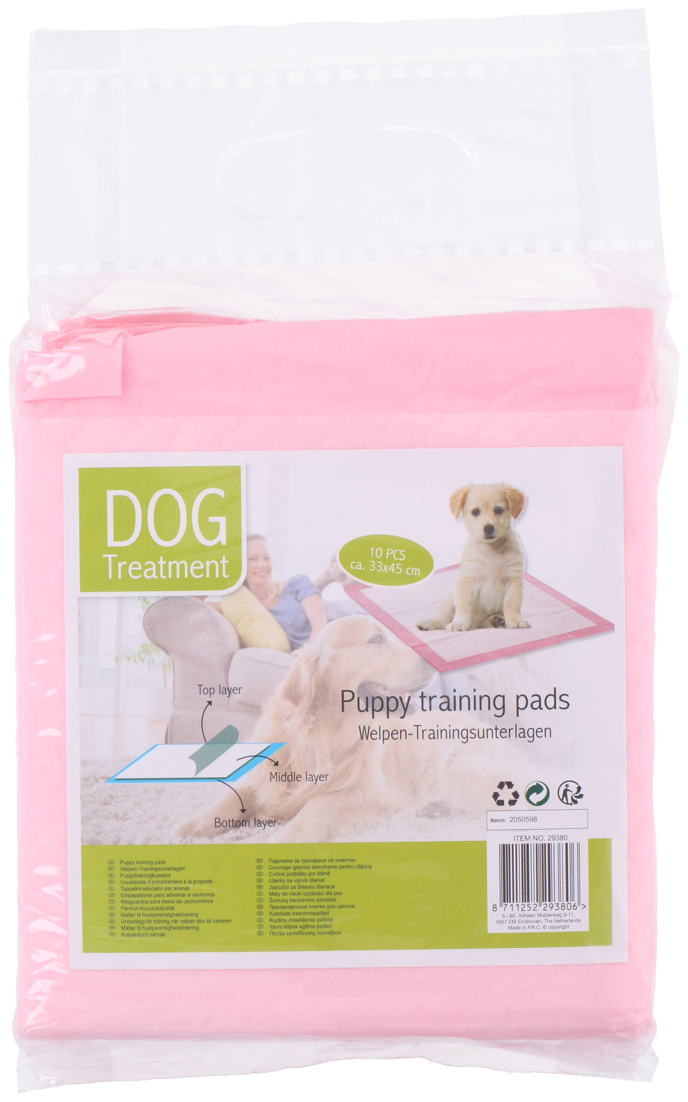 PUPPY TRAINING PADS 10PCS