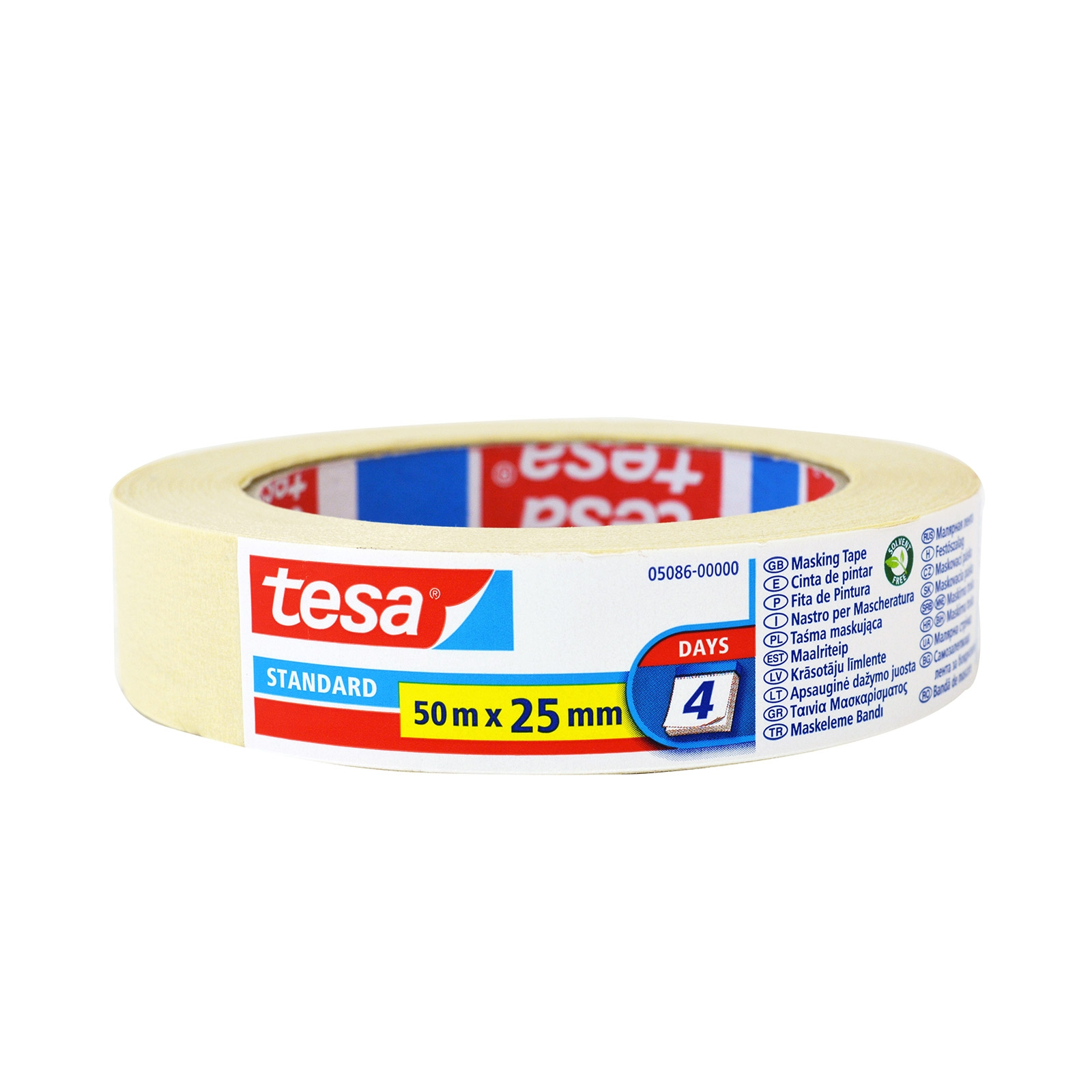 TESA MASKING TAPE 50MX25MM