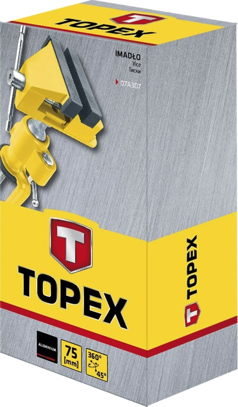 TOPEX TABLE VICE 75MM WITH JOI