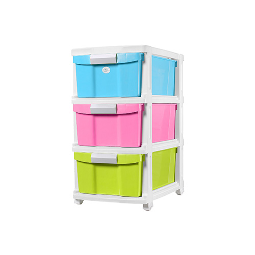 3 TIERS DRAWERS COLOUR