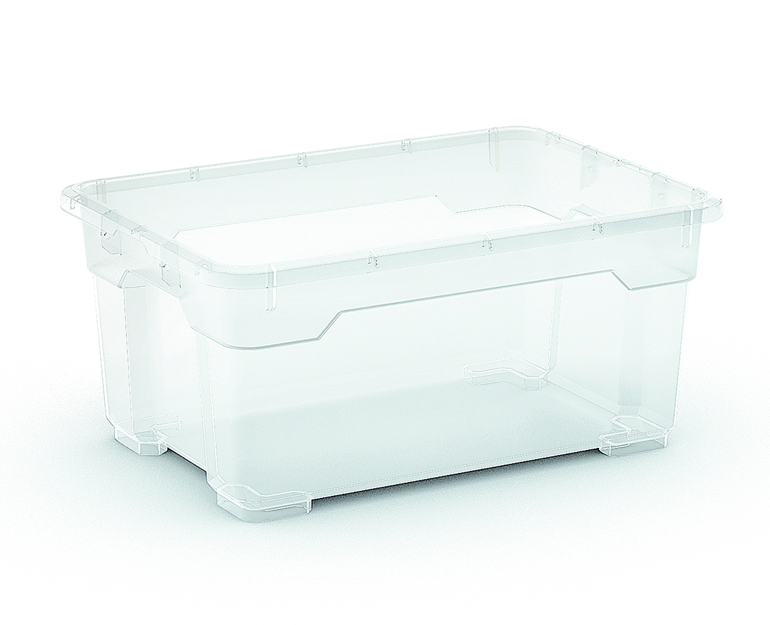 KIS R BOX XS BODY 12L TRANSPARENT