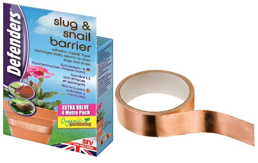 DEFENDERS SLUG & SNAIL BARRIER TAPE 4M