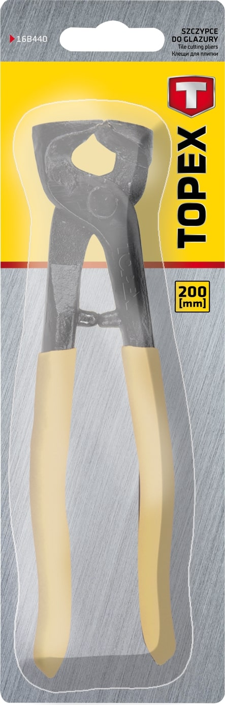 TOPEX TILE CUTTING PLIERS 200M