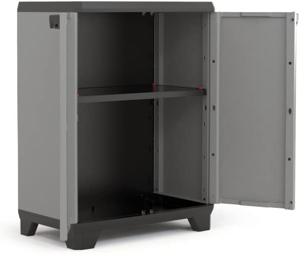 KETER STILO - LOW CABINET 68X39X90CM
