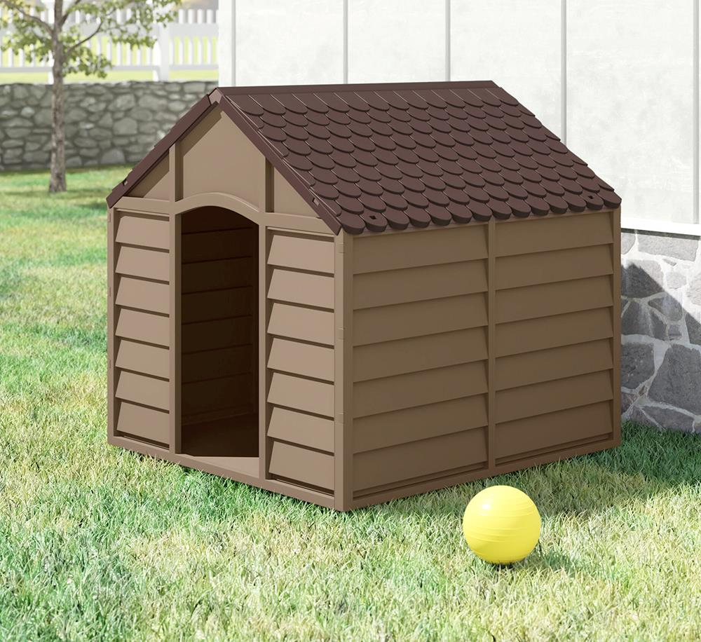 STARPLAST DOG KENNEL BEIGE/MOCCA S/M