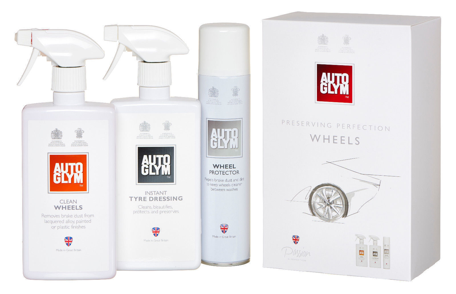 AUTOGLYM  PERFECT WHEELS KIT